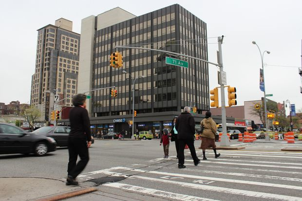 The intersection of Queens Boulevard and 71st Avenue in Forest Hills has seen several serious accidents in recent years.