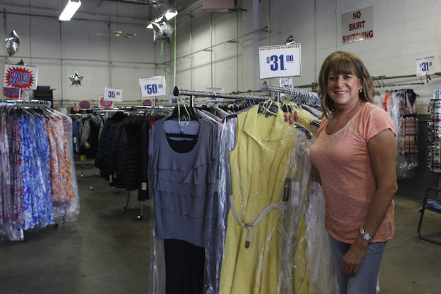 Vidalia Ahearn ran the shop with her husband, and now continues the business.