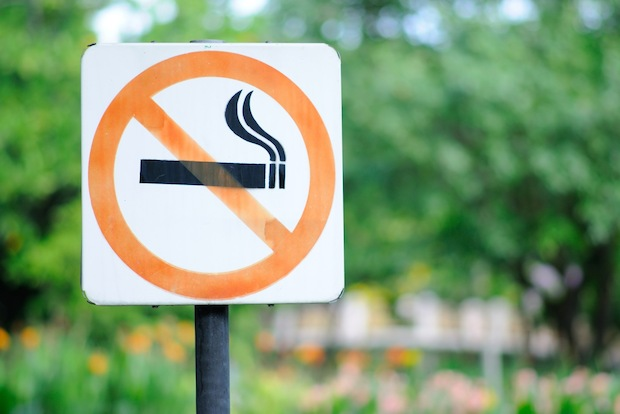 There's been a steep rise in the number of apartments listed in smoke-free buildings, data shows.