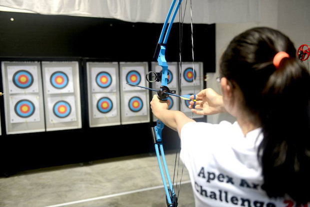 Gotham Archery, a new archery center at 480 Bond St., will open in Brooklyn this week.