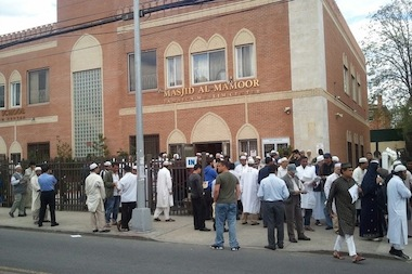 Hundreds of people attend the Jamaica Muslim Center on a daily basis.