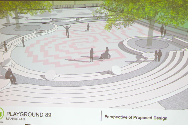 The Parks Department said it will not bring additional changes to its design back to Community Board 7.