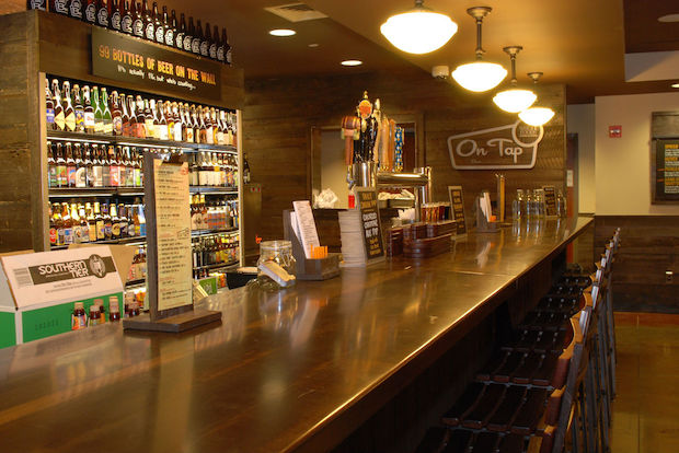 The grocery store chain will add liquor to its wine and beer selections at its Columbus Circle location.