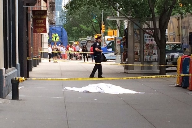Woman plunges to her death onto upper west side sidewalk for 70 park terrace east new york ny