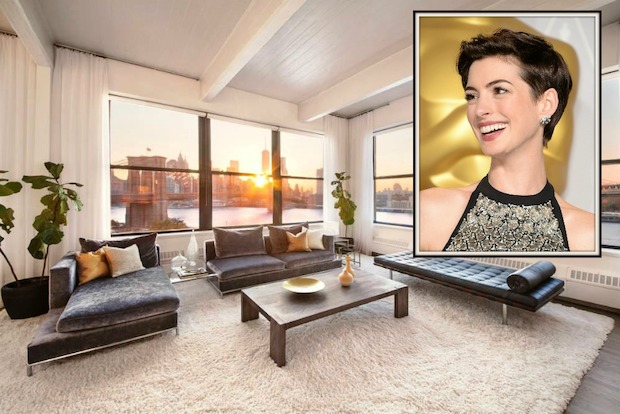 Anne Hathaway listed her DUMBO loft for $4.5 million.