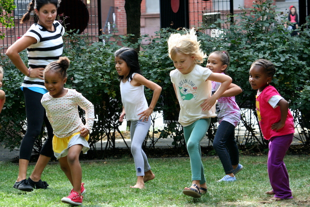 The Arts in the Gardens series features arts programming in four Brooklyn gardens this summer.