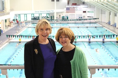 Carol Tweedy (left) will be succeeded by Maggy Siegel (right) beginning in July 2014.