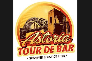 The Astoria Tour de Bar takes place Saturday, with food and drink specials at 21 local watering holes.