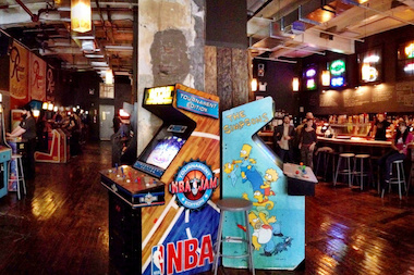 Barcade's new Chelsea location has 54 classic arcade games.