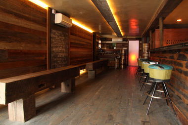 Inside Bed-Vyne Brew, at 70 Tompkins Ave. The craft beer bar celebrates its one-year anniversary with a block party on Saturday.