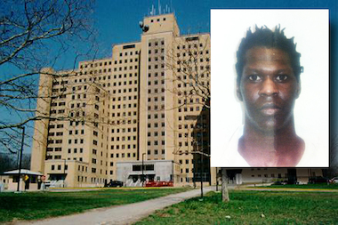 Clifford Brown was found after he hopped a chain-link fence at the Creedmoor Psychiatric Center Tuesday, police said.