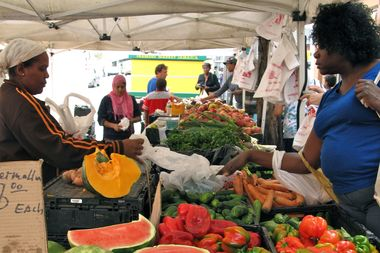 The Jamaica Farmers market reopens for the season this weekend.