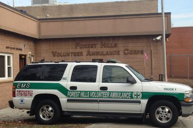 The Forest Hills Volunteer Ambulance Corps has been serving the neighborhood since 1971.