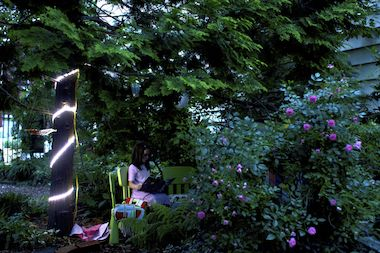 "Art collective Flux Factory is partnering with the LIC Community Garden to present ""Nightlight,"" a light-based outdoor installation that uses projectors, shadows and motion sensors to transform the space after dark."