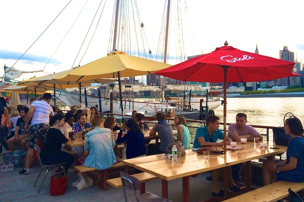 Grabs some drinks and watch the waves at these waterfront bars.