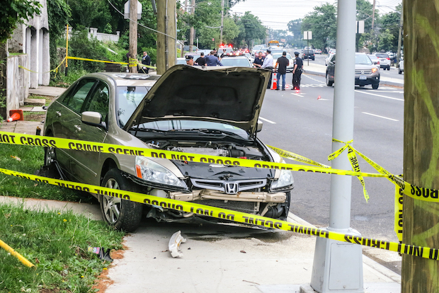 Christal Aliotta, 31, was struck and killed by a driver while walking on the sidewalk near Hylan Boulevard and Cleveland Avenue on Monday, police said. A second, 20-year-old, woman was also hit and sustained minor injuries.