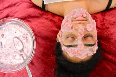 Aestheticians share their secrets on how to use greenmarket products to do facials at home.