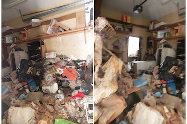 One couple is planning to move from their Neponsit home because of the health hazard an abandoned home causes.