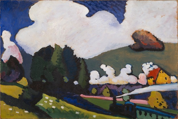 Sixteen works from Kandinsky's early artistic career will be shown at the exhibit.