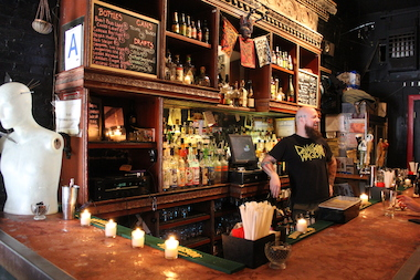 The longtime East Williamsburg bar, 286 Seigel St., will be moving to 1 Knickerbocker Ave.