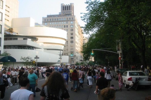 The festival, now in its 36th year, transforms Fifth Avenue into a block party for the arts.