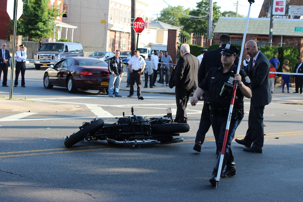 Off Duty Officer Killed In Motorcycle Accident In South Jamaica