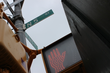 A car parked near the intersection of North 5th Street and Kent Avenue had more than $2,000 worth of Gucci and Prada accessories stolen from it.