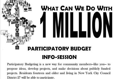 The first info-session about participatory budgeting in Jamaica is scheduled for June 12.