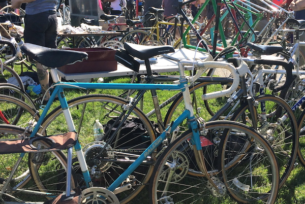 The New York Bike Jumble gives cyclists a chance to buy, sell or swap.