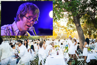 The Prospect Park Alliance will host a Ben Folds concert and sit-down dinner on Saturday for up to 5,000 people.