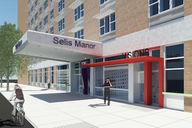 The planned renovation for Selis Manor will give its residents $38 million in improvements.