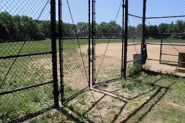 Community members hope to make the ballfield in St. Mary's park more accessible.