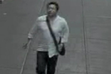 This man is suspected of attacking a 38-year-old man in Midtown, police said.