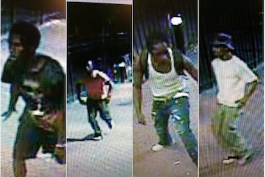 Four men attacked a 41-year-old man on Stanton Street, police said.