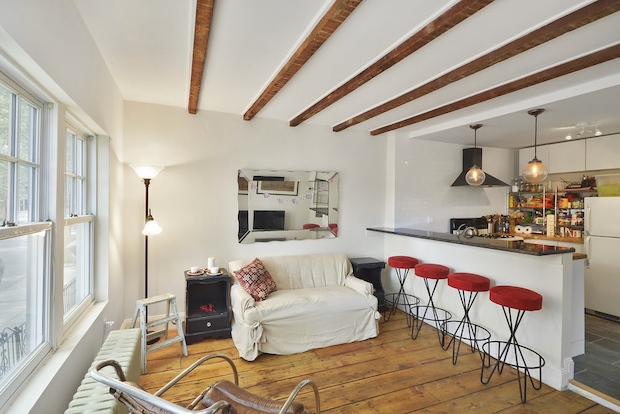 Three townhouses with yards or terraces in hot Brooklyn neighborhoods for under $1 million.