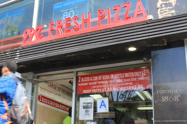 A Brawl Broke Out At The Dollar Slice Joint In Village Last Tuesday Evening