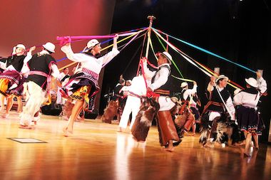The Ayazamana Dance Group is one of the Queens groups funded by the Queens Arts Fund in 2014.