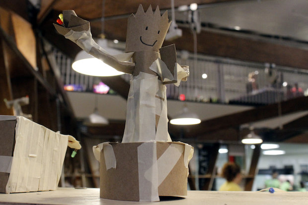 The Design Lab is made up of five spaces that let kids create and build their own pieces of art