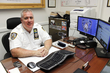 "Deputy Inspector Ronald Leyson hopes to use Twitter to share the ""great work"" of his police officers and inform residents about crime in the 110th Precinct."