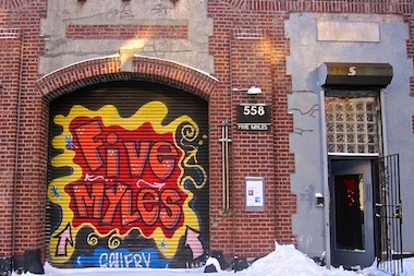 The Five Myles art and performance space on St. Johns Place between Classon and Franklin avenues opened in Crown Heights 15 years ago. Staff there are hoping to bring together old and new residents of the neighborhood with a new portrait project.