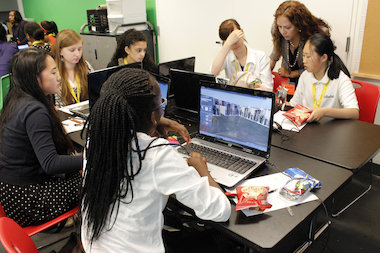 The STEM video game program brought in 25 Girl Scouts to learn about careers in tech.