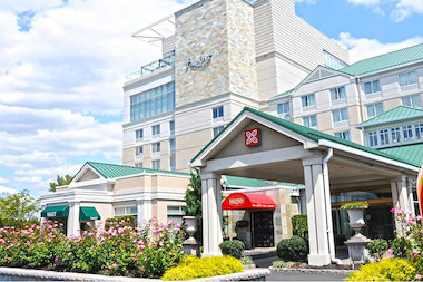 Two People Were Found Dead On A Bed Inside Room At The Hilton Garden Inn