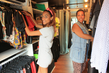 A Bronx entrepreneur and her friend started selling women's streetwear from an 18-foot-long truck.