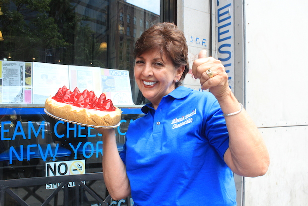 Eileen's Cheesecake's little blue awning has been a landmark on Cleveland Place since the 1970s.