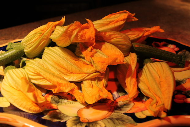 The Executive Chef of 'Cesca, Craig Wallen, said zucchini blossoms are attractive on the plate and offer great flavor.