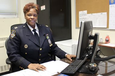 Capt. Judith Harrison is the new commanding officer of the 112th Precinct.