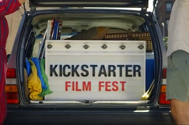 The festival will screen 17 films that were made with funds raised from Kickstarter campaigns.