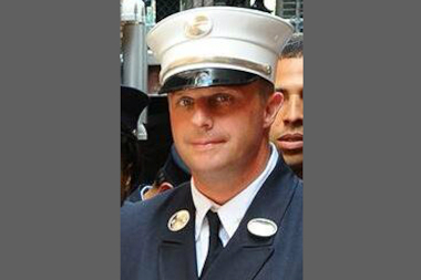 Lt. Gordon Ambelas died in a fire at 75 Wilson St. in Williamsburg on July 5, 2014.