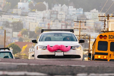 Uber competitor Lyft had a rocky start in its first weekend, as the number of drivers failed to meet the demand of riders.