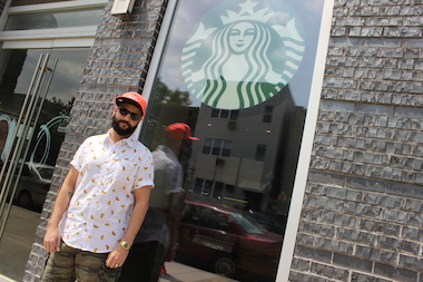 Williamsburg's first Starbucks opened at 405 Union Ave.